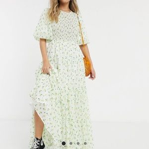 ASOS maxi dress in ditsy floral print